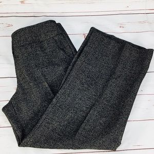 Talbots Collection Wide Leg Black & GoldDress Pant